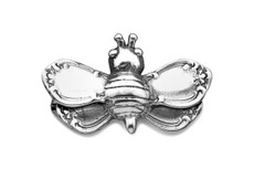 Silver Spoon Bumble Bee Pin