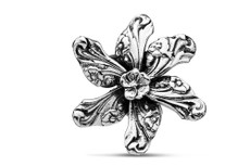 Silver Spoon Georgia Flower Pin