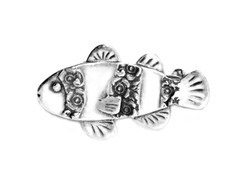 Silver Spoon Clownfish Pin