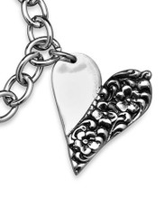 Silver Spoon Charlotte Heart Charms