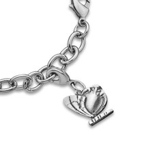 Silver Spoon Madeline Butterfly  Charms