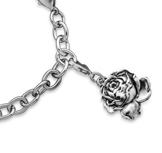 Silver Spoon English Rose  Charms