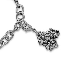 Silver Spoon Daisy  Charms