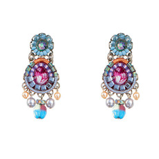Ayala Bar Gentle Jasmine Small Post Earrings
