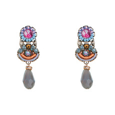 Ayala bar Pretty Princess Jasmine Small Post Earrings