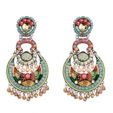 Ayala Bar Amber Alchemilla Post Earrings