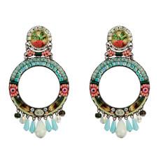Ayala Bar Hula Hoop Alchemilla Earrings