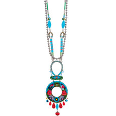 Ayala Bar Cornflower Long and Lovely Necklace