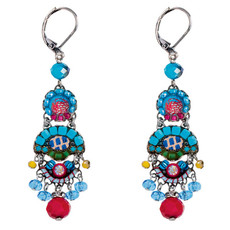 Ayala Bar Cornflower French Wire Earrings
