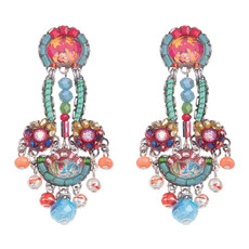 Ayala Bar Polyanthus Ladybug Earrings