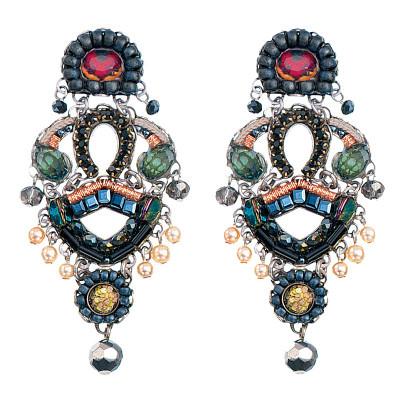 Ayala Bar Hellebore Black Magic Earrings