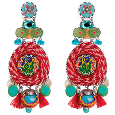 Ayala Bar Amalfi Shore Long Post Earrings