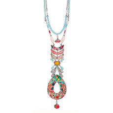 Ayala Bar Peony Long and Layered Necklace