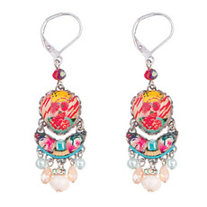 Ayala Bar Bar Peony French Wire Earrings