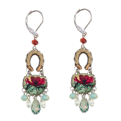 Ayala Bar Magnolia French Wire Earrings