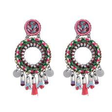 Ayala Bar Flora Hula Hoop Earrings