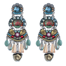 Turquoise Ayala Bar Willow Earrings