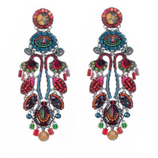 Ayala Bar Jewellery Rowan Pink Earrings
