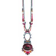 Pink Ayala Bar Jewelry Rowan Style Necklace