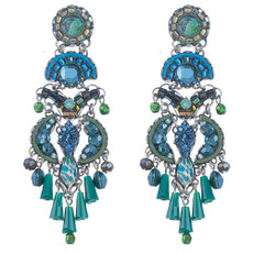 Ayala Bar Fall 2017 Blue Earrings Clarity