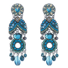 Ayala Bar Jewelry Clarity Blue Earrings