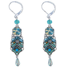 Blue Ayala Bar Jewelry Clarity Style Earrings