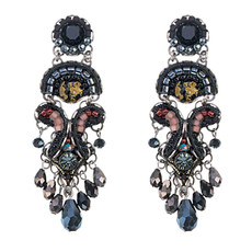 Ayala Bar Fall 2017 Black Earrings Blacktree