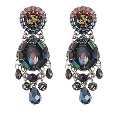 Ayala Bar Jewelry Blacktree Black Earrings
