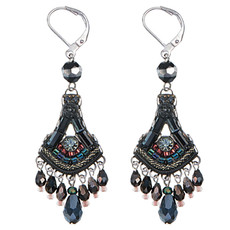 Ayala Bar Jewellery Blacktree Black Earrings