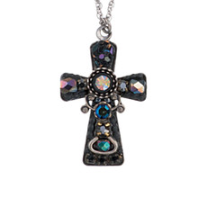 Ayala Bar Jewelry Blacktree Black Crosses