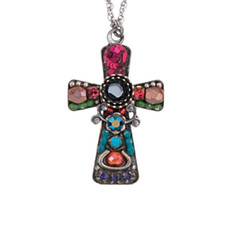 Ayala Bar Jewellery  Pink Crosses