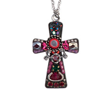 Red Ayala Bar Jewelry  Crosses