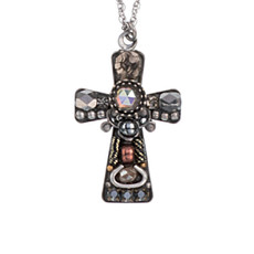 Silver Ayala Bar Jewelry  Style Crosses