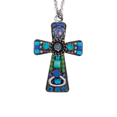 Blue  crosses from Ayala Bar Jewelry