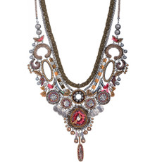 Gold Birch style necklace by Ayala Bar Jewelry