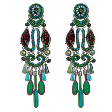 Ayala Bar Jewellery Cornelia Green Earrings