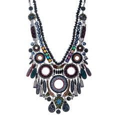 Ayala Bar Jewelry Nighthawk Black Necklace