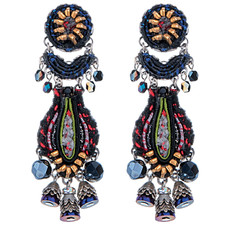 Black Nighthawk earrings from Ayala Bar Jewelry