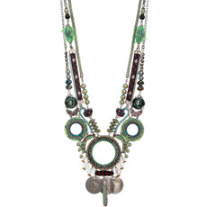 Ayala Bar Ocean Drift Necklace Green