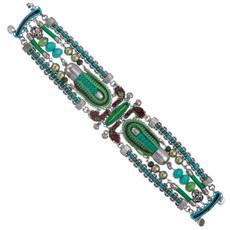Green Ayala Bar Jewelry Cornelia Style Bracelet