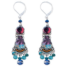 Ayala Bar Awakening Earrings Purple