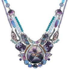 Purple Ayala Bar Awakening Necklace