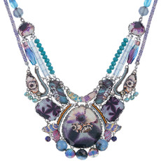 Purple Ayala Bar Awakening Necklace