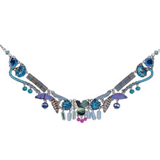 Blue Illumination style necklace by Ayala Bar Jewelry