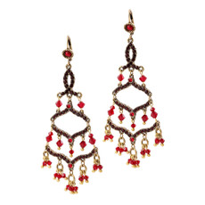 Michal Negrin Chandelier Earrings - Multi Color