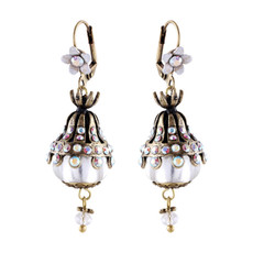 Michal Negrin Ball Earrings - Multi Color