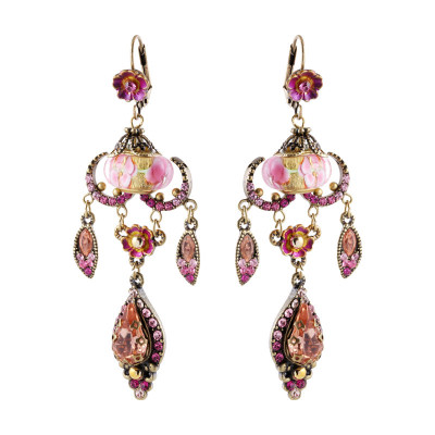 Michal Negrin Raindrop Earrings - Multiple Colors