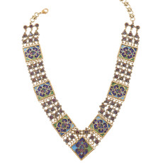 Michal Negrin Belt Necklace - Multi Color