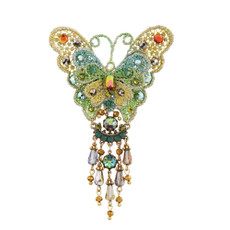 Michal Negrin Butterfly Brooch - Multiple Colors