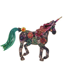 Michal Negrin Unicorn Brooch